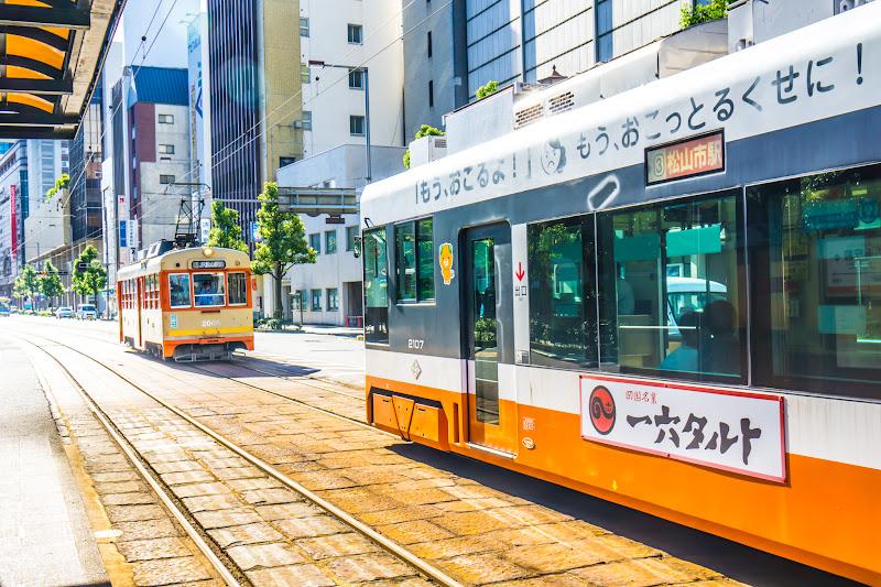 松山 路面電車 5