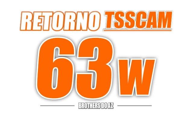 Retorno TSSCAM (Tocom-Visionsat) SKS 63w - 27/10/2020