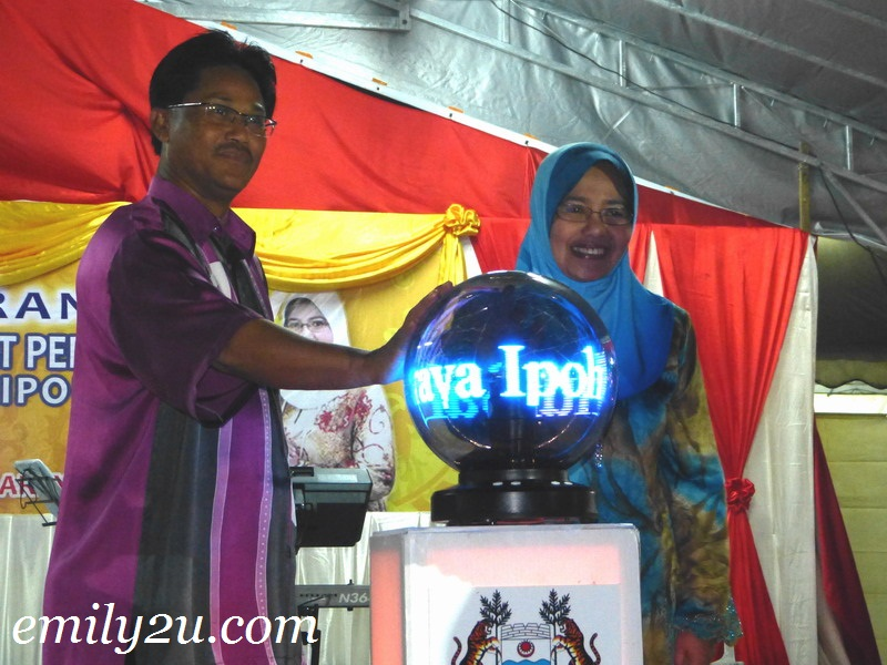 Launch of Visit Perak Year 2012 Programmes In Ipoh