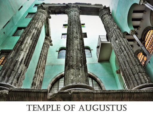 Temple of Augustus. From Six Secrets of Barcelona