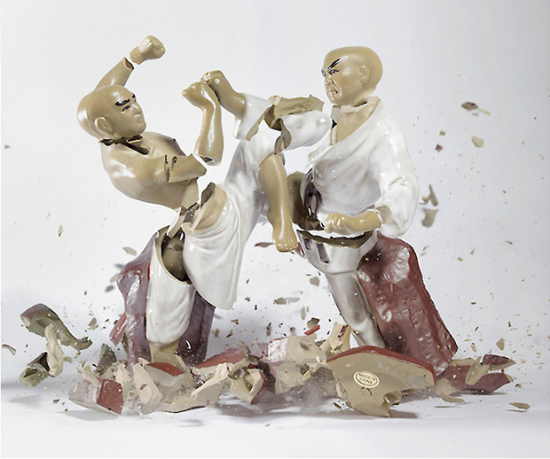 Porcelain Figurines in Action