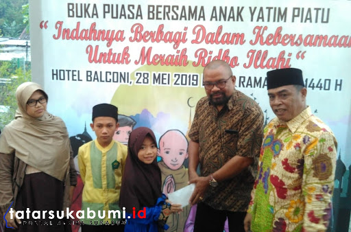 Perhimpunan Advokat Peradi Sukabumi Santuni Yatim Piyatu