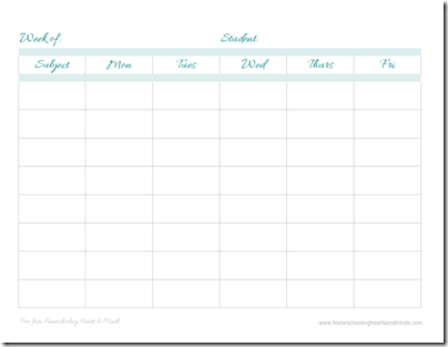 free assignment pages grid style thumbnail 1