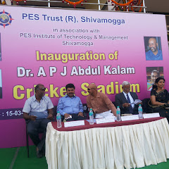 Inauguration of APJ Abdu kalam Cricket Stadium, PESITM Campus, Shimoga