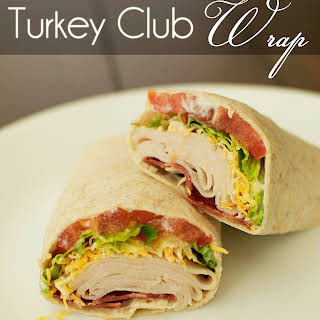 Turkey Club Wrap.