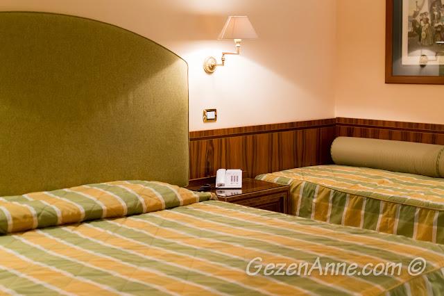 Sorrento'da kaldığımız Antiche Mura otel odası