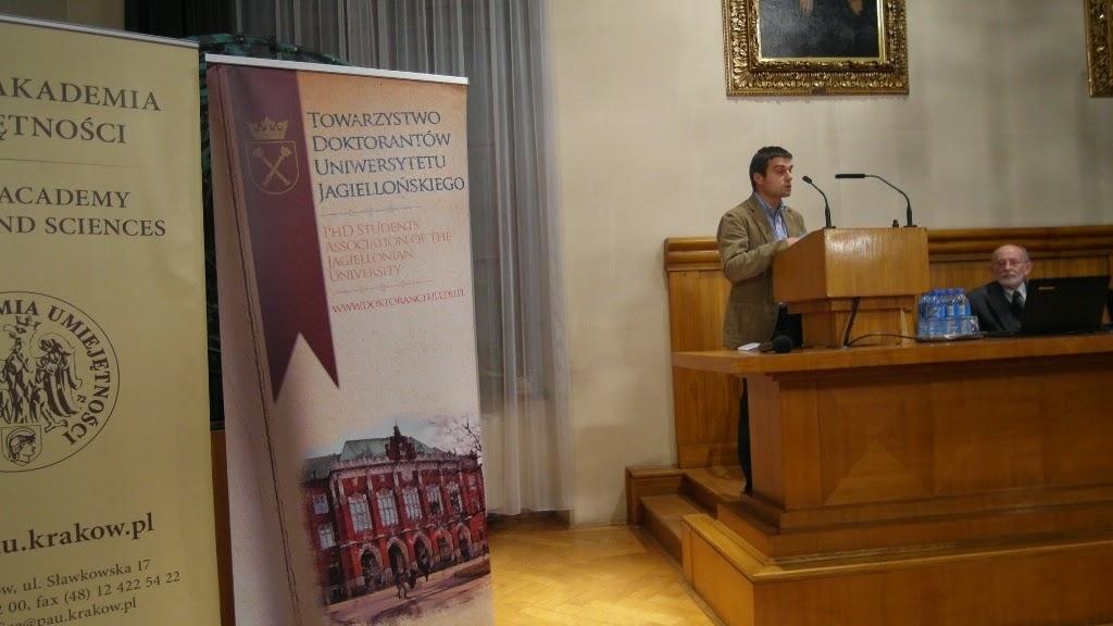 Konferencja Metody geofizyczne w archeologii polskiej (fot. J. Karmowski, K. Kiersnowski) - geof%2B%252852%2529.JPG