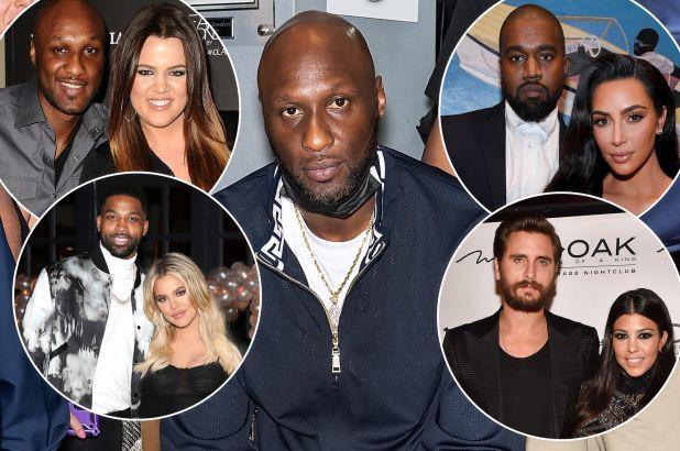 "Lamar Odom blasts the 'Kardashian curse', says he's ""lucky"" to be associated with the Kardashian family"