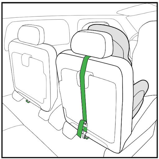 Car Seat Anchor Strap