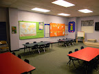 This room is used for our four-year-olds as well as Children's Worship for 3's-Kindergarten.  Children's Worship takes place on the 1st and 3rd Sundays of each month during the school year and the 1st Sunday of the month during the summer.