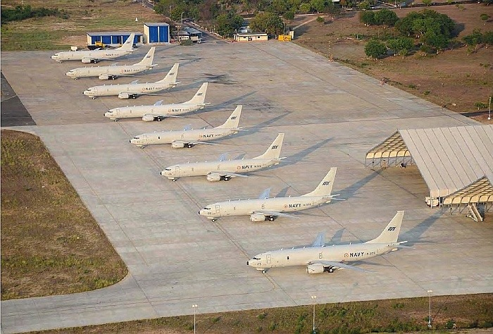 Indian Navy Boeing P-8I Neptune Maritime Aircraft
