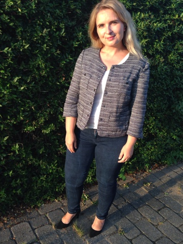 Sew blue dresses: Oh Coco! - classic jacket for fall