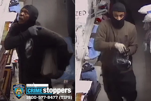Burglars enter NYC store through roof, steal thousand