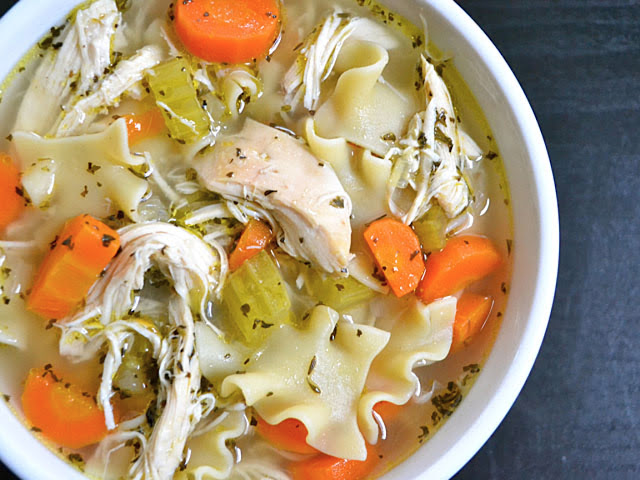 homemade chicken noodle soup budget bytes
