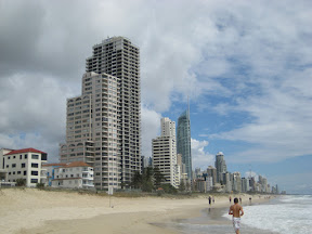 Surfers' Paradise on the Gold Coast