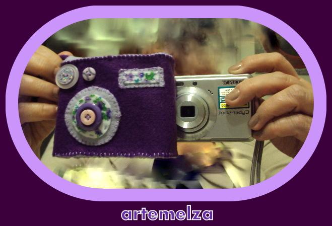 artemelza - capa para máquina fotográfica