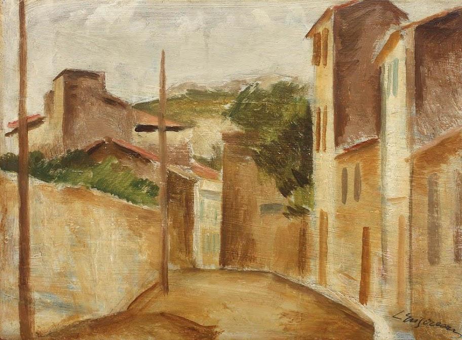 Lucian Grigorescu - Peisaj din sudul Franţei