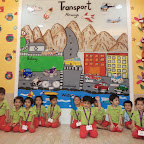 Transport Theme in Nursery (2014-15) at Witty World