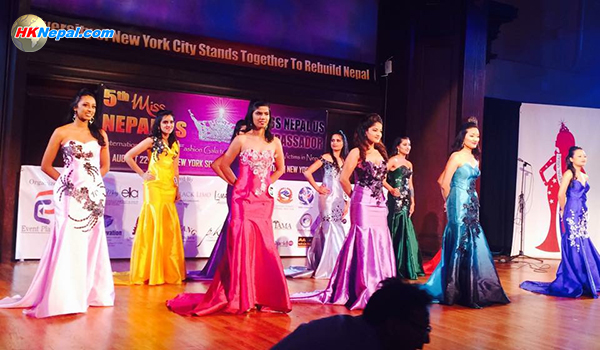 ५औं मिस नेपाल युएस सुन्दरीको उपाधि प्रियंका थपलियालाई