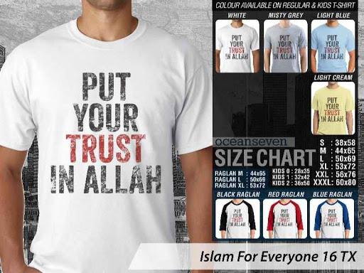Kaos Distro Islami For Everyone 16 distro ocean seven