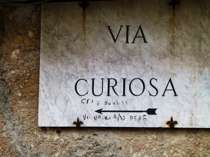 Via Curiosa. Wandering Perugia.. From Italy: 100 Locals Tell You Where to Go, What to Eat, and How to Fit In