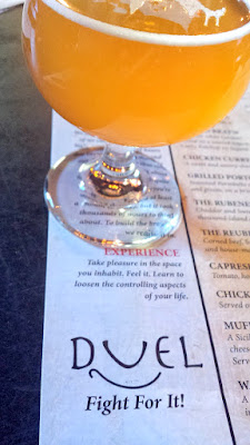 Duel Brewing and Taproom specializes in Belgian Style beers.