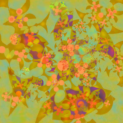 """The """"Fractal Blossom 2"""" piece from the """"2012"""" collection"""