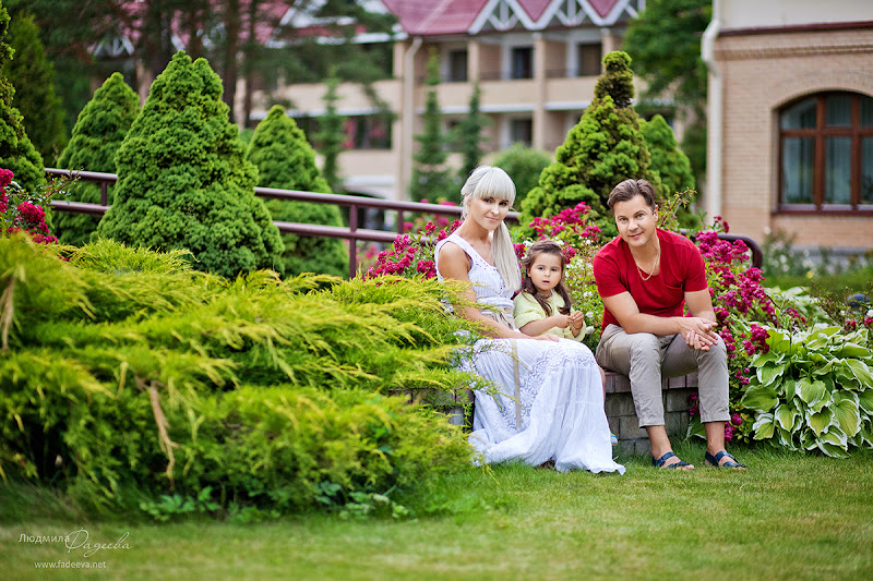Летняя прогулка в парке..  Фотограф Людмила Фадеева