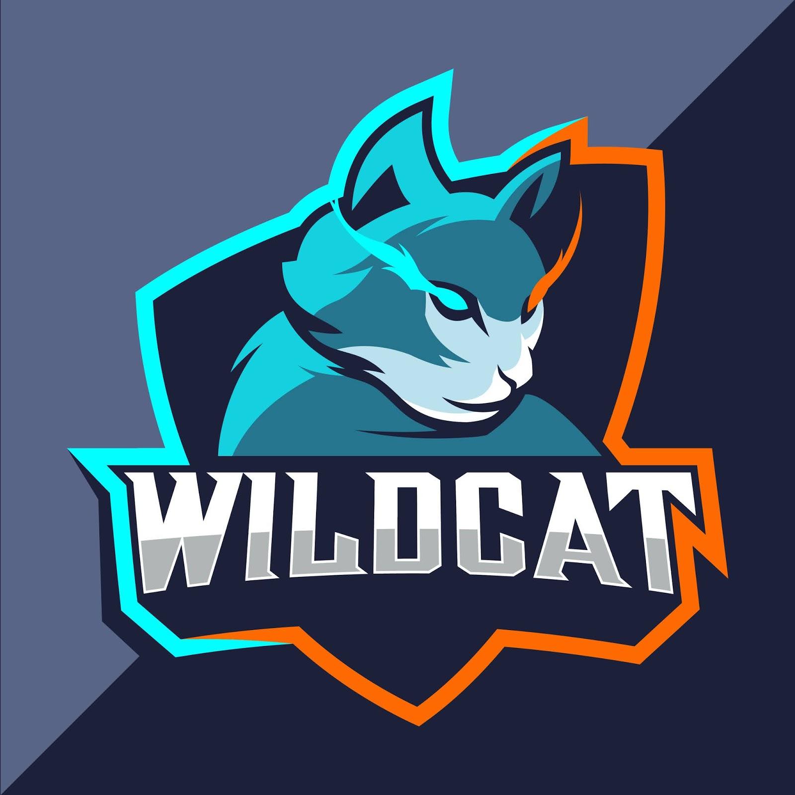 Wildcats Mascot Esport Free Download Vector CDR, AI, EPS and PNG Formats