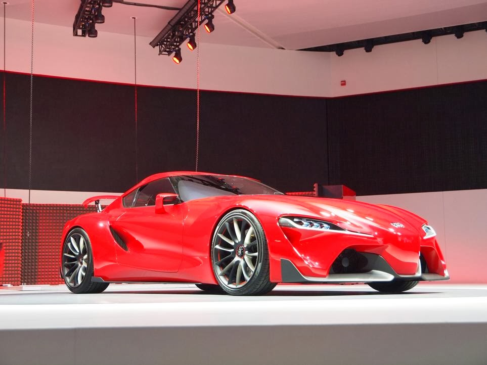 Toyota FT-1 Concept Unveiling 4