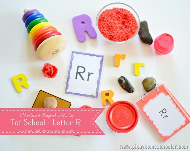 TotSchoolLetter R