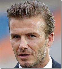 Soccer Player Haircut David Beckham