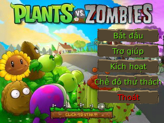 (Việt hóa) Plants Vs Zombies Version 1