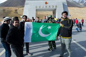 Posing at Khunjrab Pass