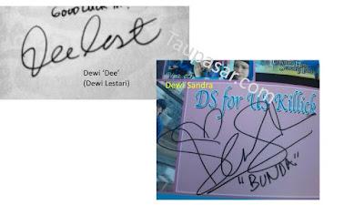 contoh tanda tangan huruf D