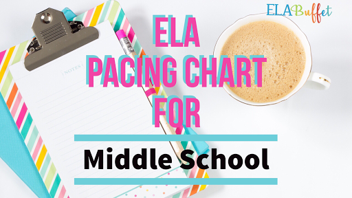 Middle school ELA teacher? Download this free pacing chart to help you plan your own scope and sequence.