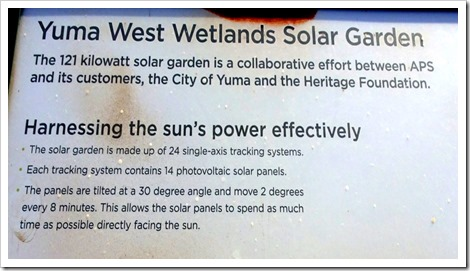 Yuma West Wetlands Solar Garden