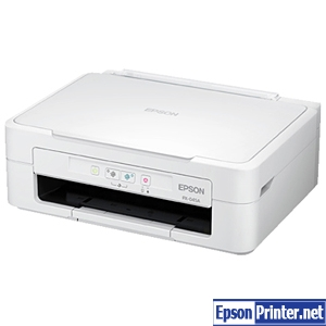 How to reset Epson PX-045A printer