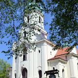 Kościół w Dąbrówce Kościelnej - cel naszej wyprawy