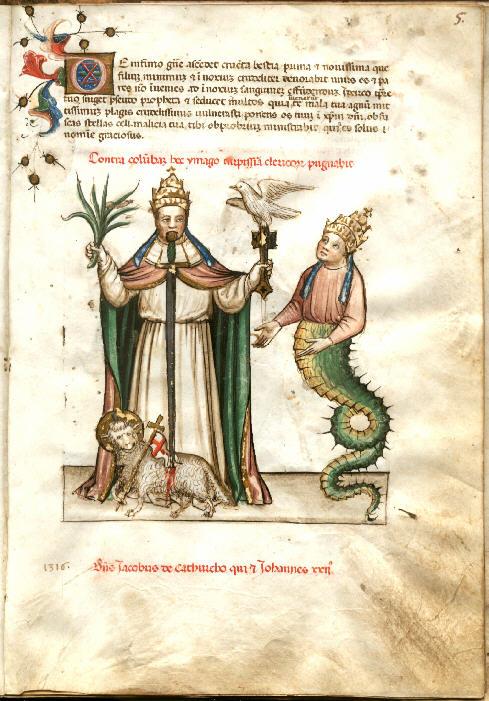 Nostradamus Book 1440 Illustration Part Three, Nostradamus