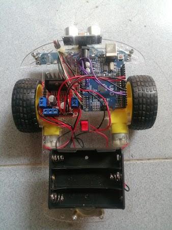 Đồ án oto dò đường dùng Arduino - L298