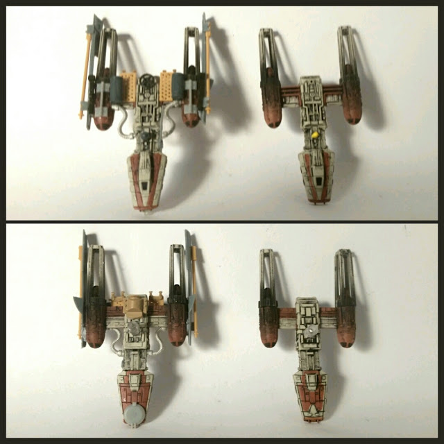 Y-Wing scum dark sun/sol negro modificado por Xela