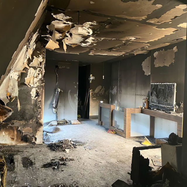 Fotografo perde tutta la sua attrezzatura e 25 anni di lavoro a causa di un incendio