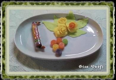 Flor de bala de goma 1