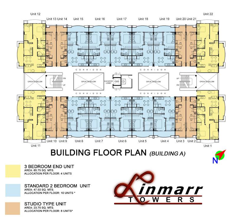 Linmarr Towers Davao Floor Plan