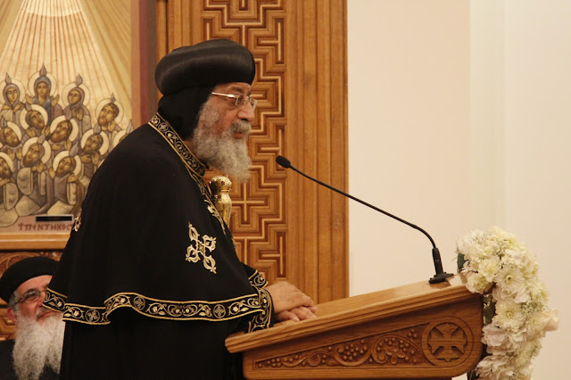 His Holiness Pope Tawadros II visit to St. Mark LA - _MG_0599.JPG