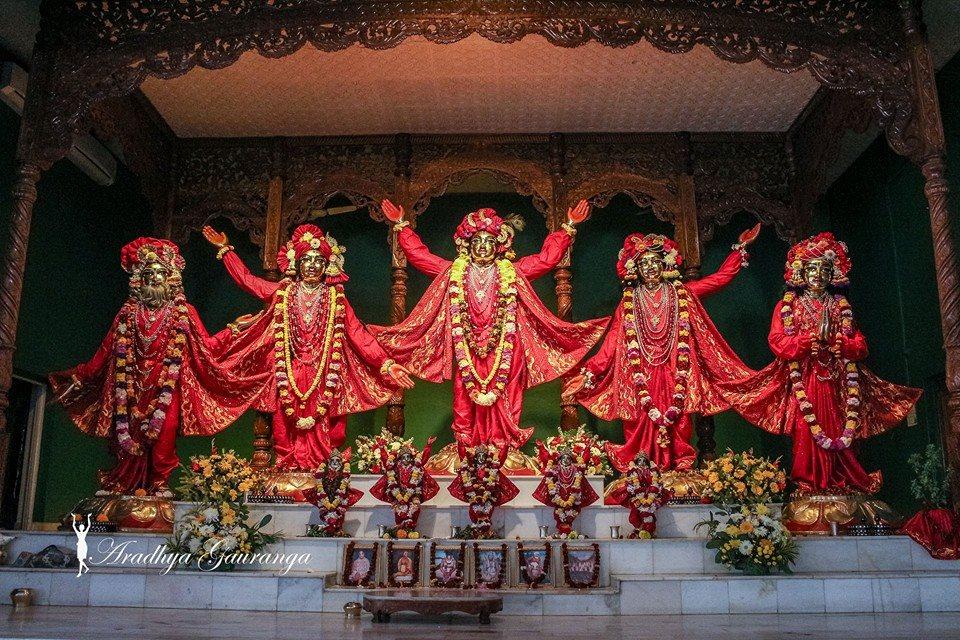 ISKCON Mayapur Deity Darshan 06 Jan 2015 (22)