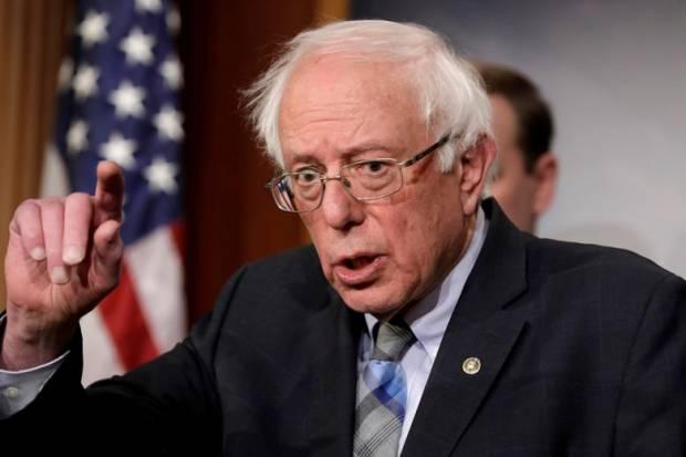 Sanders: Bom Buatan AS Hancurkan Gaza, Membunuh Wanita dan Anak-anak
