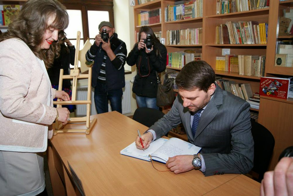 Principele Nicolae în vizită la Colegiul Național Doamna Stanca Satu Mare
