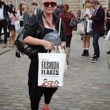 WWW.ENTSIMAGES.COM -     Gail Porter at           LFW - Somerset House Courtyard Sunday September 14th 2014                                              Photo Mobis Photos/OIC 0203 174 1069